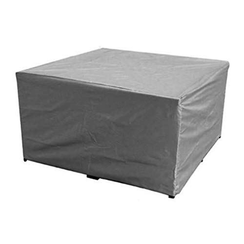WCJML Outdoor Patio Garden Furniture Cover,rectangular Rattan Protective Cover Waterproof Oxford Fabric for Table Chair Sofa Barbecue Grill (Customizable)