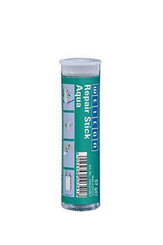 WEICON 10531057 2 Komponenten Spezial Kleber |Epoxidharz | schnelle Reparatur von Heizkörpern, Pool, Maritim, Unterwasserbereich, Weiß, 57g