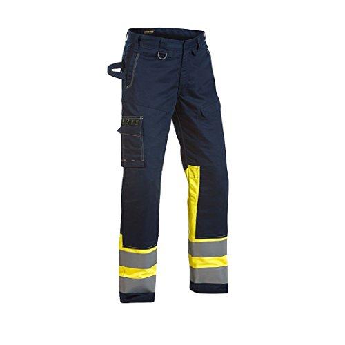 Blakläder 147815148933C50 Multinorm Bundhose Größe C50 in marineblau-gelb