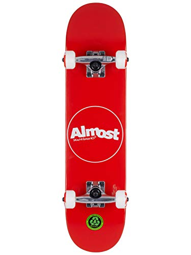 Almost Skateboard Complet Min 7.0 Thin Line Red
