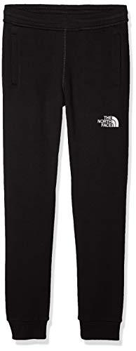 The North Face Pantaloni Felpati Bambini, Unisex Bambini, Nero/Tnf Nero/Tnfwht, XS
