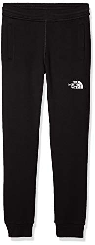 The North Face Y Fleece Pant Pantalón Polar Juvenil, Unisex niños, TNF Black/TNF White, S