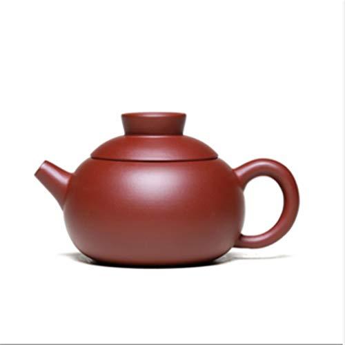 NCOEM Tetera Vintage para té a Granel Tetera de la Tetera de Arcilla púrpura Tetines de té Famoso Pure Hand-Ore Da Hong Pao Té con Tetera de Arcilla púrpura