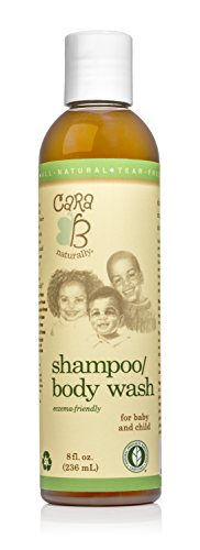 CARA B Naturally Baby Shampoo and Body Wash for Textured, Curly Hair - Eczema-Friendly Formula - No Parabens, Sulfates, Phthalates...