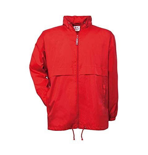 B & C Collection Air coupe-vent rouge M
