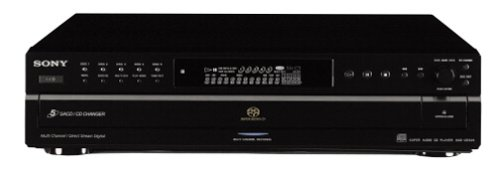 Sony SCD-CE595 5-Disc CD/Super Audio CD Player (Discontinued by Manufacturer)
