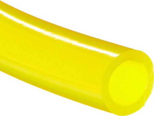 "Tygon F-4040-A PVC Fuel And Lubricant Tubing, 3/16"" ID, 5/16"" OD, 1/16"" Wall, 10"
