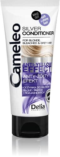 Delia Cosmetics Silver Conditioner per capelli sbiancati e grigi