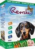 Carne fresca para perros con pavo y pato de Renske (10 x 395 g)