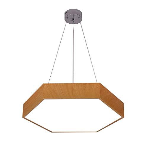YANQING duurzame kroonluchters Europese zeshoekige kroonluchters, creatief kantoor hoge helderheid acryl lampenkap verlichting decoratieve plafondlamp hanglamp verlichting