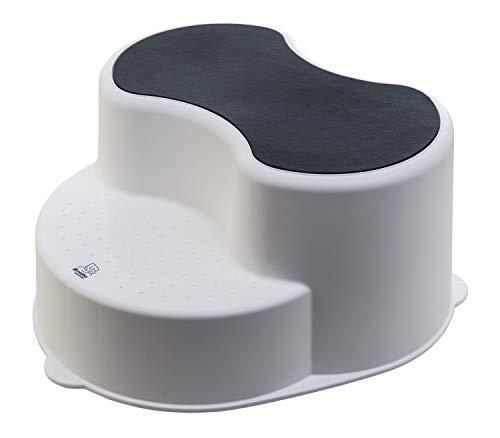 Rotho Babydesign TOP Kinderschemel, Anti-Rutsch-Trittfläche, TOP, Weiß, 200050001