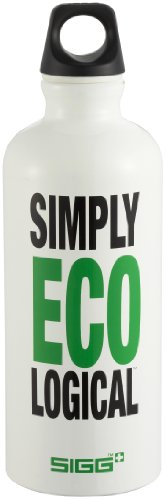 Sigg Botella 'Design Eco Message' Contenance 0,6L Simply Ecological