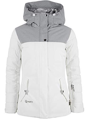 Halti Ski-/Snowboardjacke Theia in Weiß (42)