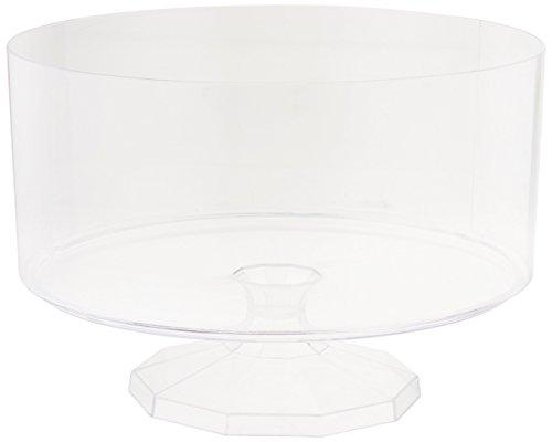 "Amscan Medium Trifle Container, 7 3/8"", Clear"