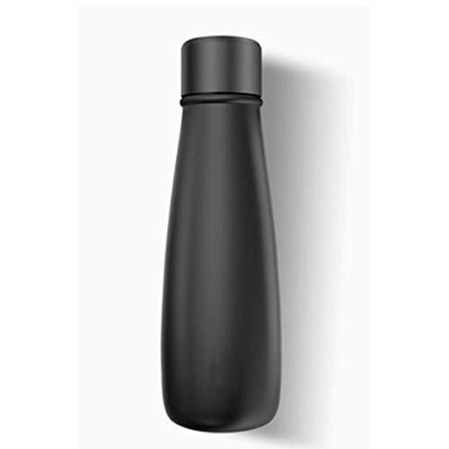 JY Elektrischer Becher, Edelstahl-Wasserflasche ohne Bpa, ultradünne vakuumisolierte Tasse, Kaffeetasse-Thermoskanne, zum Aufbrühen von Kaffee oder Tee, Milchpulver