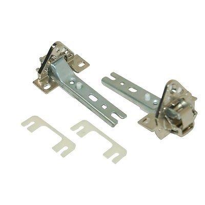 Kga-Supplies 1 paire de charnières de porte pour réfrigérateur congélateur Bosch NEFF et Siemens