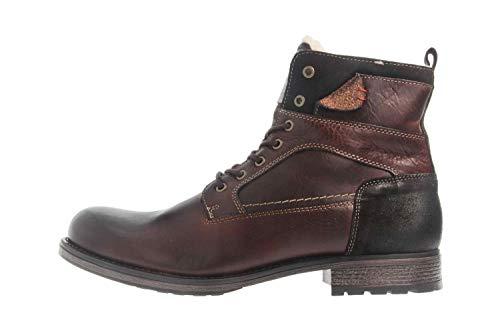 MUSTANG Shoes Stiefeletten in Übergrößen Dunkelbraun 4865-610-32 große Herrenschuhe, Größe:47