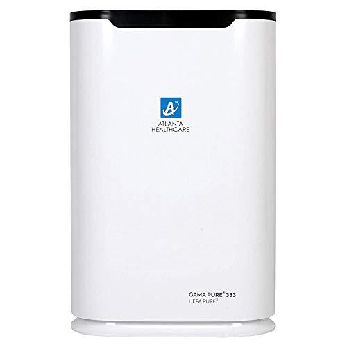 Atlanta Healthcare Gama Pure 333 40-Watt Hepa Pure Air Purifier With Icluster Technology (White)