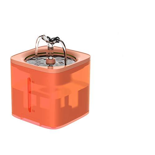 Hbao Dispensador automático de Filtro de Fuente de Agua para Gatos para Mascotas, Bebedero Inteligente para Gatos, Cuenco de Agua para Gatitos, Cachorros, alimentador Inteligente para Perros