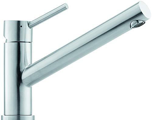 Franke Taros Window Edelstahl massiv Küchen-Armatur Mischbatterie Einhandmischer