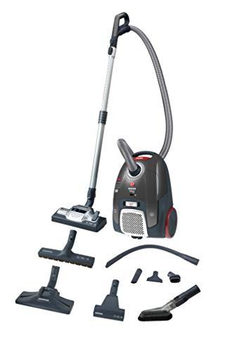 Hoover TX63SE 011 550 W - Aspiradora (550 W, Aspiradora de tambor, Secar, Bolsa para el polvo, 3,5 L, EPA)