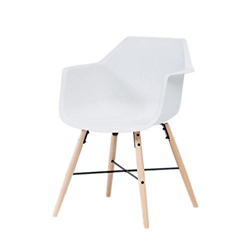 XXT moderne bureaustoel van massief hout, bureaustoel