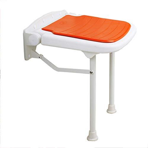 WYJW douchestoel douchestoel voor badstoelen, wandbevestiging, drop-leaf stoel, opvouwbare douchestoel, opklapbaar