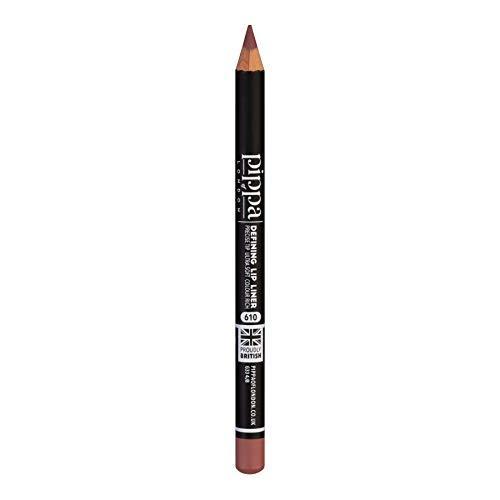 Pippa of London Defining Lipliner-Stift - Weicher Lipliner für Lippenkonturen - Farbintensive Lippen matt - Lippengrundierung für Lippenstift (Orseis - 610)