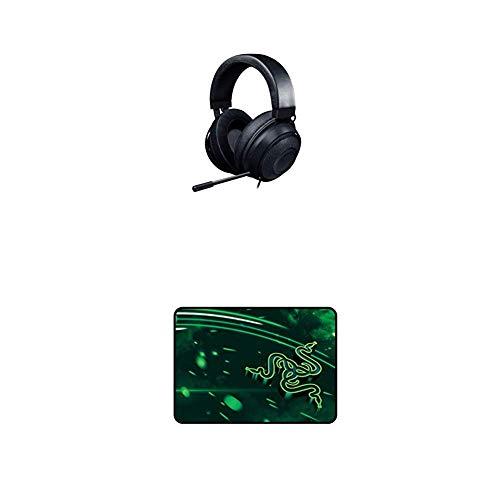 Razer Kraken Gaming Headset + Goliathus Cosmic Medium Mouse Pad Bundle