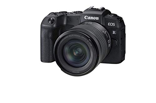 Canon EOS RP Full-Frame Mirrorless Interchangeable Lens Camera + RF24-105mm Lens F4-7.1 is STM Lens Kit- Compact and Lightweight for Traveling and Vlogging, Black (3380C132) (Renewed)