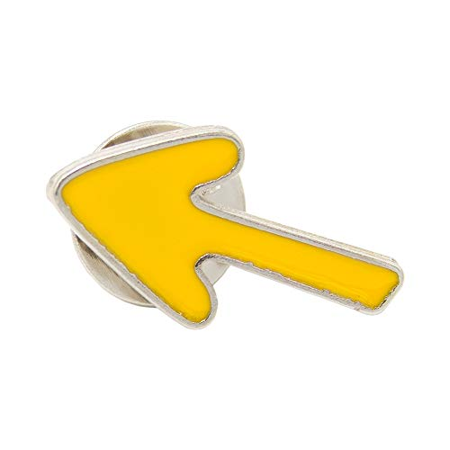 Finoly Pin Camino de Santiago para Ropa Varios Diseños Xacobeo Jacobeo (Pin Flecha Amarilla Camino Santiago)