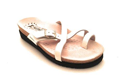 Mephisto , Damen Zehentrenner Weiß weiß, Weiß - weiß - Größe: 35 EU