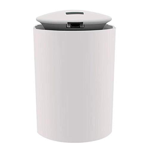Humidificador De Coche Humidificador De Aire Aroma De Coche Difusor De Aceite Esencial Para Purificador De Aire De Coche Nano Spray Mute Aire Limpio Accesorios De Coche-Blanco