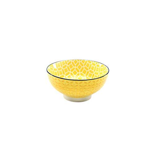 Neu Müslischale Dessertschale Salatschüssel Mediterran   Steinzeug   Curry - Gelb   Ø 15 cm …