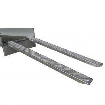 Set ALU Verladeschienen / Auffahrschienen 3000 x 260mm 1000kg/Paar