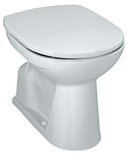 Laufen Pro Stand-WC pergamon; Tiefspül-WC, Abgang innen senkrecht