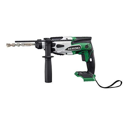 HITACHI HiKOKI Akku-Bohrhammer DH18DSLL2Z SDS-plus 18 V 1,4 J Schlagenergie inkl. Zusatzhandgriff, Bohrtiefenanschlag, HSC II Box