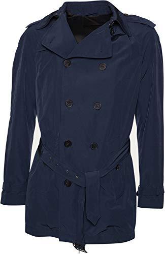 Drykorn Herren Trenchcoat Paris Blue 50 / L
