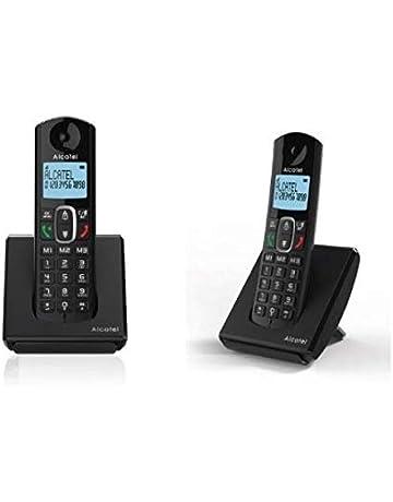 Alcatel F680 Duo - Teléfono inalámbrico, Color Negro: Alcatel: Amazon.es: Electrónica