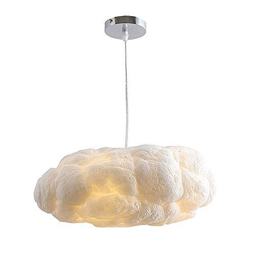 Creative Cloud Lamp, Decoratieve Floating White Cloud Kroonluchter Bedroom Children's Room Cotton Cloud Techniek Lamp