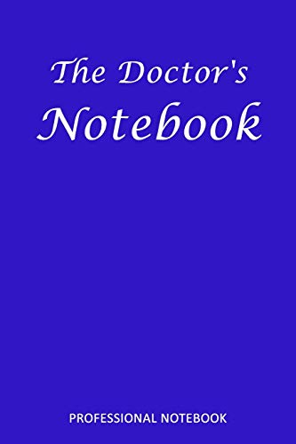 The Doctor's Notebook: PROFESSIONAL NOTEBOOK