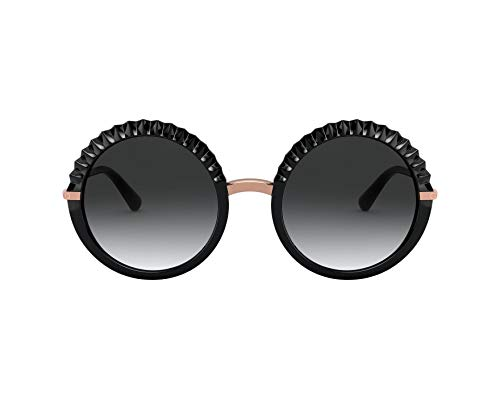 Dolce & Gabbana Damen 0DG6130 Sonnenbrille, BLACK, 52