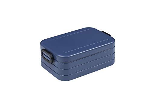 Mepal Nordic Denim Lunchbox take a Break midi, Plastik, 18.5 x 12 x 6.5 cm