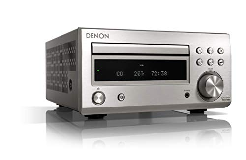 Denon RCD-M41DAB FM/DAB/CD Receiver, Bluetooth Silber