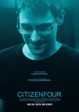 CITIZENFOUR – German Movie Wall Poster Print - A4 Size Plakat Größe Edward Snowden