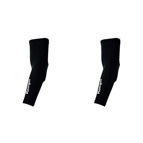 Kempa Persönliche Schutzausrüstung ARM SLEEVE Ellbogenschoner, schwarz/Weiß, M/L