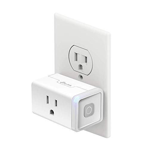 Kasa Smart Plug by TP-Link, Smart Home Wi-Fi Outlet Works with Alexa, Echo, Google Home & IFTTT, No Hub Required, Remote Control, 12 Amp, UL Certified, 1-Pack (HS103)
