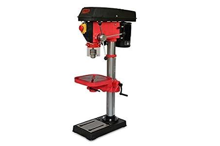 Taladro De Columna 550W, 220V, 12 Niveles De Velocidad, Altura 980mm, 210-2220 Rpm, Diámetro Máximo De Perforación 16mm