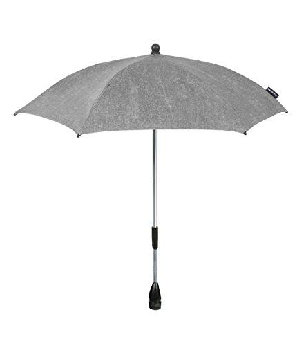 Maxi-Cosi Parasol modischer Sonnenschirm für Kinderwagen mit UV-Lichtschutz 40 Plus inklusiv Befestigungsclip,nomad grey, grau