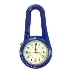SDJYH Carabiner Uhr Outdoor Sports Hook Lock Uhr Starke leuchtende Taille Uhr Retro Interstellar Commemorative Edition Taschenuhr